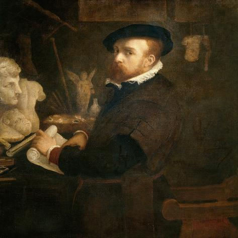 The Antiquarian, c. 1530-Lorenzo Lotto-Stretched Canvas Print