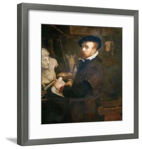The Antiquarian, c. 1530-Lorenzo Lotto-Framed Art Print