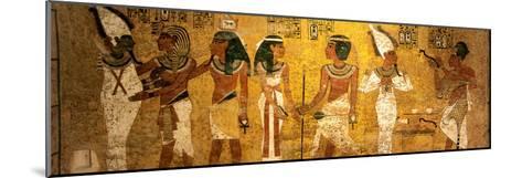 King Tut Tomb Wall, Egypt-Kenneth Garrett-Mounted Photographic Print