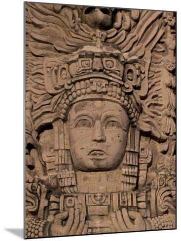 Hotel Mayan Palace, Mayan Sculpture, Puerto Vallarta, Mexico-Walter Bibikow-Mounted Photographic Print