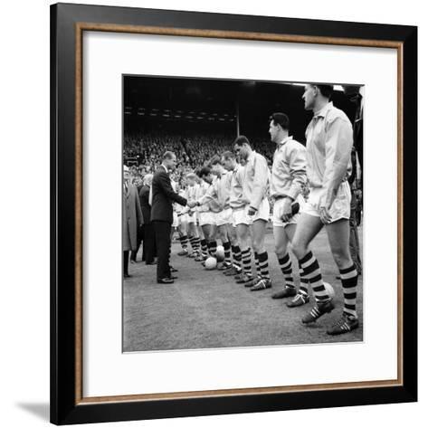 FA Cup Final at Wembley Stadium--Framed Art Print