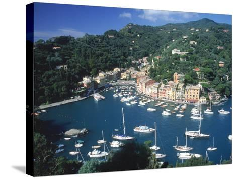 Portofino, Italy-Lonnie Duka-Stretched Canvas Print