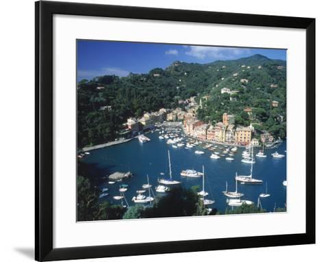 Portofino, Italy-Lonnie Duka-Framed Art Print