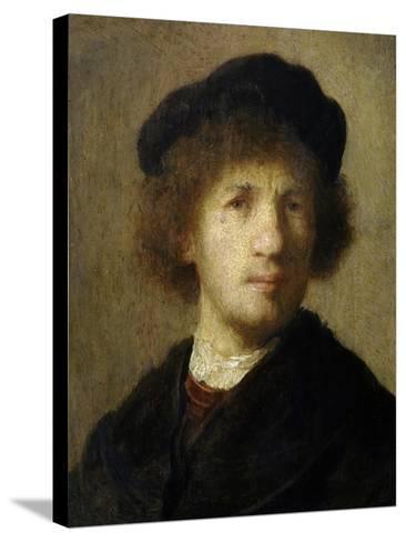 Self-Portrait-Rembrandt van Rijn-Stretched Canvas Print
