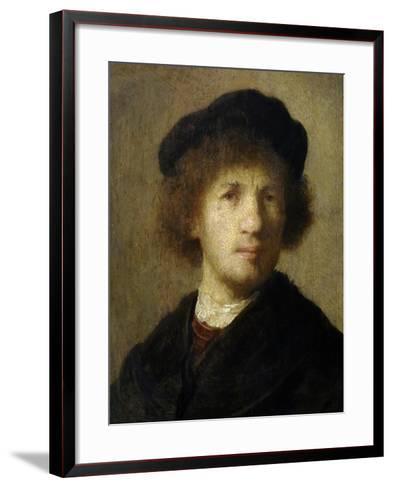 Self-Portrait-Rembrandt van Rijn-Framed Art Print