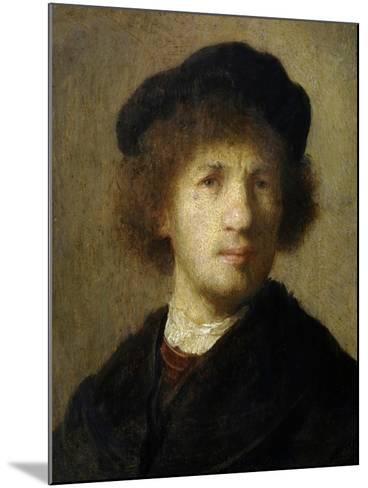 Self-Portrait-Rembrandt van Rijn-Mounted Giclee Print