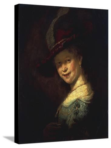 Saskia As a Girl-Rembrandt van Rijn-Stretched Canvas Print