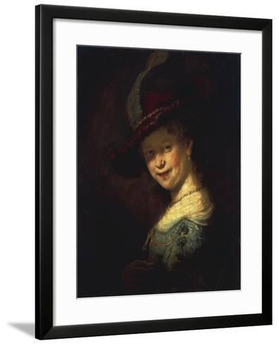 Saskia As a Girl-Rembrandt van Rijn-Framed Art Print