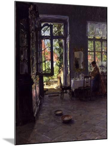 The Garden Room-Gotthardt Johann Kuehl-Mounted Giclee Print