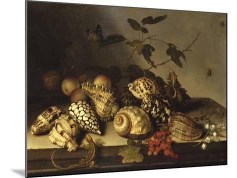 Mussels and Fruit Still-Life-Balthasar van der Ast-Mounted Giclee Print