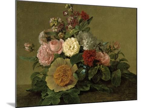 Still-Life With Flowers-Georg Friedrich Kersting-Mounted Giclee Print