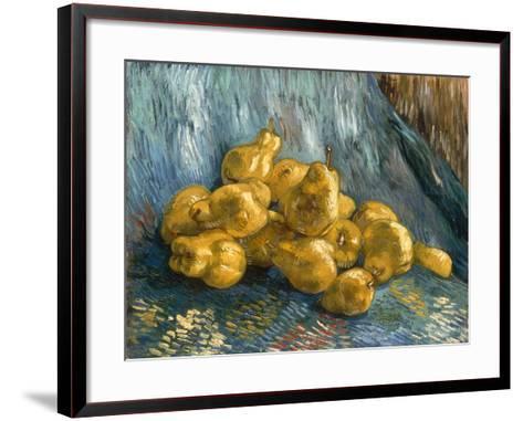 Still-Life With Quinces-Vincent van Gogh-Framed Art Print