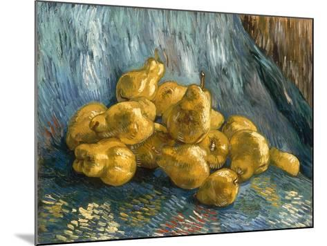 Still-Life With Quinces-Vincent van Gogh-Mounted Giclee Print