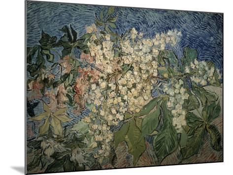 Blossoming Chestnut Branches-Vincent van Gogh-Mounted Giclee Print