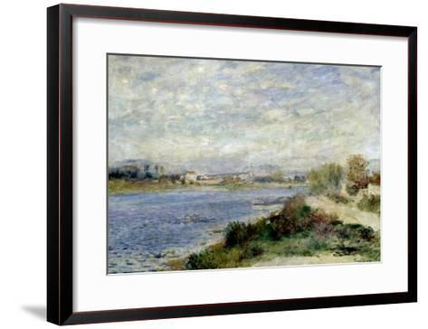 The Seine at Argenteuil-Pierre-Auguste Renoir-Framed Art Print