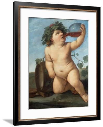 Bacchus As a Boy-Guido Reni-Framed Art Print