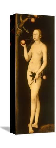 Eve-Lucas Cranach the Elder-Stretched Canvas Print