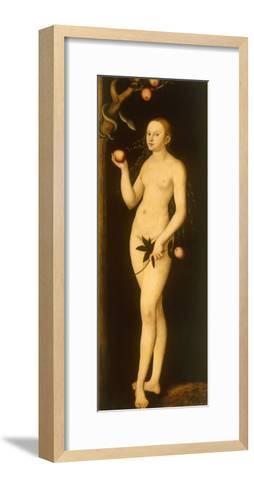 Eve-Lucas Cranach the Elder-Framed Art Print