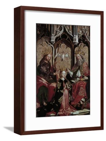 Coronation of the Virgin Mary-Michael Pacher-Framed Art Print
