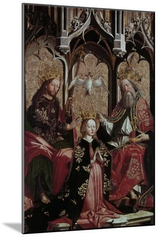 Coronation of the Virgin Mary-Michael Pacher-Mounted Giclee Print