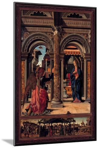 Annunciation-Francesco del Cossa-Mounted Giclee Print