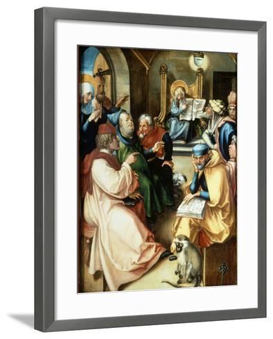 The Twelve Year Old Jesus-Albrecht D?rer-Framed Art Print