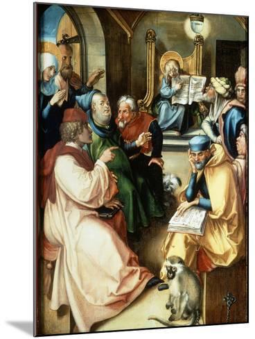 The Twelve Year Old Jesus-Albrecht D?rer-Mounted Giclee Print