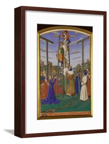 Deposition From the Cross-Jean Fouquet-Framed Art Print