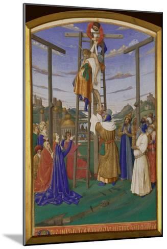 Deposition From the Cross-Jean Fouquet-Mounted Giclee Print