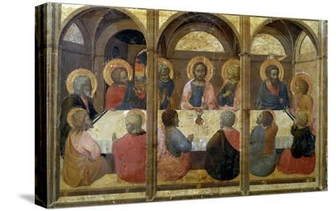 The Last Supper-Sassetta-Stretched Canvas Print
