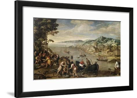 The Miraculous Draught of Fish-Lodewyk Toeput-Framed Art Print