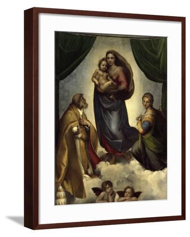 The Sistine Madonna-Raphael-Framed Art Print