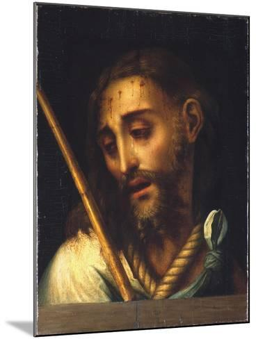 The Man of Sorrows-Luis De Morales-Mounted Giclee Print
