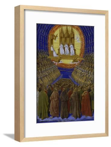 The Holy Trinity-Jean Fouquet-Framed Art Print