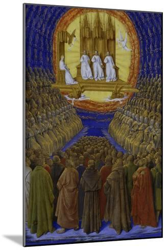 The Holy Trinity-Jean Fouquet-Mounted Giclee Print