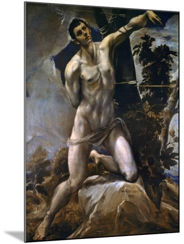 Saint Sebastian-El Greco-Mounted Giclee Print