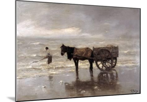 Horse and Cart-Anton Mauve-Mounted Giclee Print