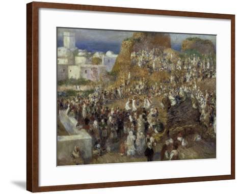The Mosque-Pierre-Auguste Renoir-Framed Art Print