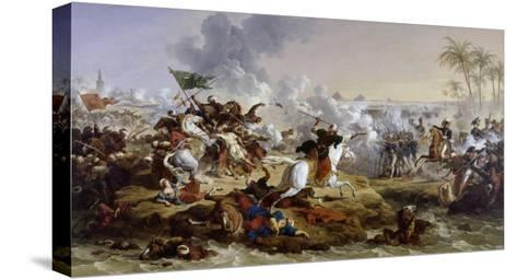 Battle of the Pyramids-Francois Andre Vincent-Stretched Canvas Print