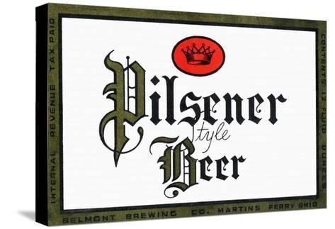 Pilsener Style Beer--Stretched Canvas Print