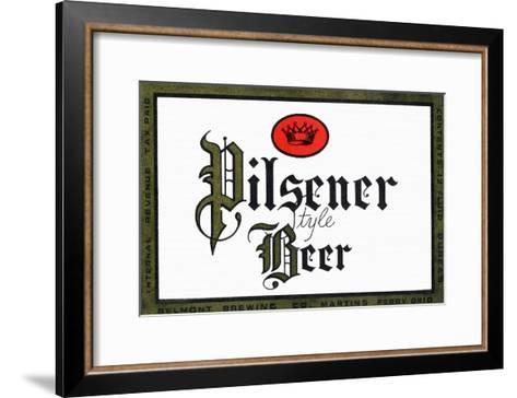 Pilsener Style Beer--Framed Art Print
