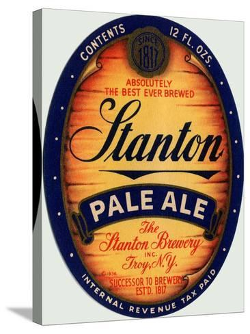 Stanton Pale Ale Beer--Stretched Canvas Print