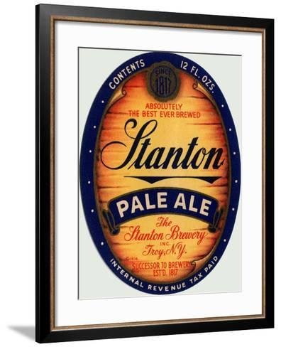 Stanton Pale Ale Beer--Framed Art Print