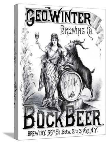 George Winter Brewing Company--Stretched Canvas Print