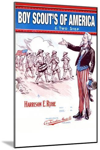 Boy Scout's of America--Mounted Art Print