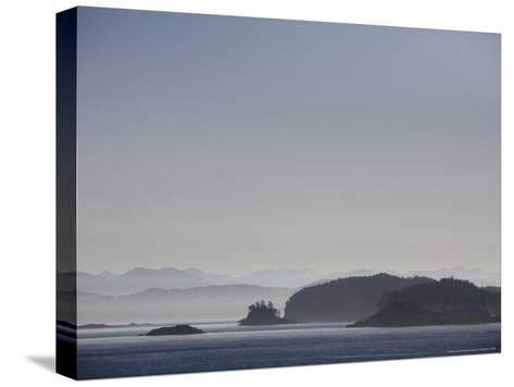 Misty Afternoon on Haida Gwaii-Taylor S^ Kennedy-Stretched Canvas Print