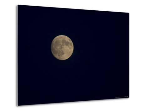 Full Moon on a Summer Night-Taylor S^ Kennedy-Metal Print
