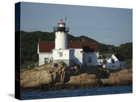 Eastern Point Lighthouse at Cape Ann in Gloucester, Massachusetts-Tim Laman-Stretched Canvas Print