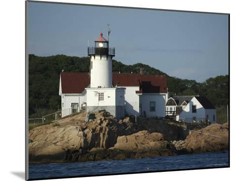 Eastern Point Lighthouse at Cape Ann in Gloucester, Massachusetts-Tim Laman-Mounted Photographic Print