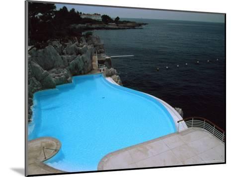 Pool on Mediterranean, Hotel Du Cap-David Evans-Mounted Photographic Print